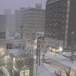 札幌雪事情