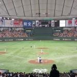 東京ドーム 巨人 中日戦